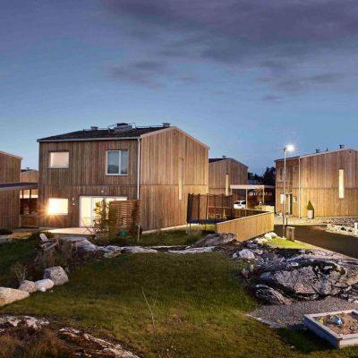 Bild på nybyggnationen i Hareslätt
